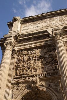 Free Fragment Of Roman  Arch Royalty Free Stock Images - 3223149