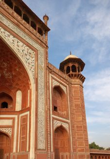 Free Fragment Of Minaret Deco Stock Image - 3223161
