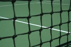 Free Tennis Court Net Royalty Free Stock Image - 3223576