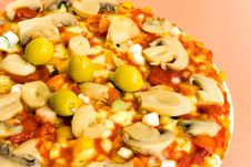 Free Pizza Vegetable 5 Stock Photography - 3223932