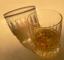 Free Glass With Whiskey Stock Image - 3224041