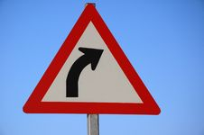 Free Warning Sign. Royalty Free Stock Photography - 3224927