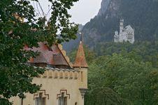 Free Schloss Neuschwanstein Stock Images - 3225234
