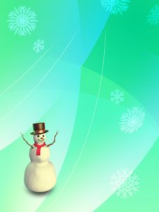 Free Christmas Snowman Stock Photos - 3225313