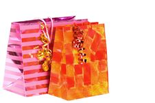 Free Gift Bags Royalty Free Stock Photo - 3225335