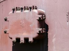 Free Bolted Hatch Stock Image - 3225661