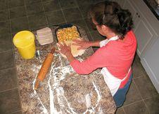 Free Making Apple Pie Royalty Free Stock Photo - 3226555