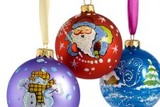 Free Christmas Tree Decorations Royalty Free Stock Image - 3227266