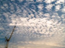 Free Crane In Sky Stock Photos - 3228253
