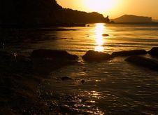 Free Silhouettes Of Paradise Royalty Free Stock Photos - 3228778