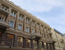 Vilnius Architecture Stock Image
