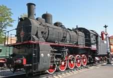 Free Steam Locomotive Stock Photography - 3228982