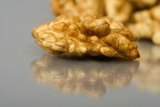 Free Walnuts Close Up Isolated Royalty Free Stock Photography - 3229037