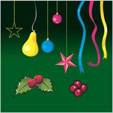Free Christmas Decorations Royalty Free Stock Photo - 3229595