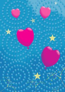 Free Balloons Flying Stock Photos - 3229703