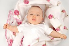 Free Baby After Bath 15 Stock Photo - 3229730
