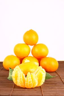 Free Tangerine Royalty Free Stock Photo - 3229745