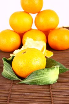 Free Tangerine Royalty Free Stock Photo - 3229785