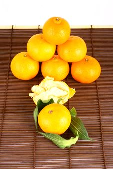 Free Tangerine Royalty Free Stock Photos - 3229828