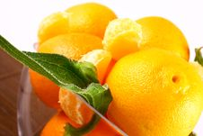 Free Tangerine Royalty Free Stock Photo - 3229915