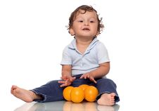 Free My Oranges. Royalty Free Stock Photography - 3229927