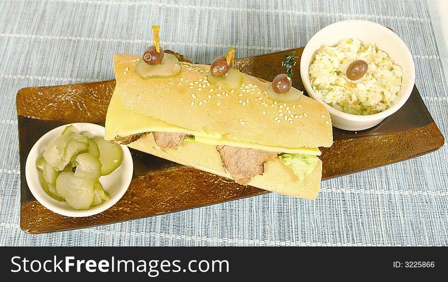 Roastbeef sandwhich