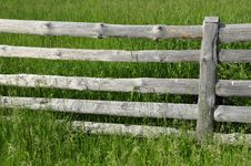 Free Old Wooden Fence. Royalty Free Stock Images - 32203329