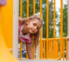Little On The Playground Royalty Free Stock Images