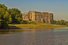 Free Carew Castle Late Afternoon Stock Photos - 32240603