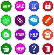 Free Set Of Icons. Stock Photos - 32244793