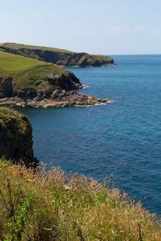 North Cornwall Coast From Port Isaac To Padstow And Polzeath Royalty Free Stock Photos