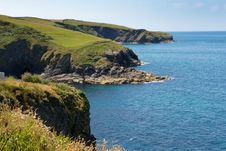 Cornwall Coast From Port Isaac To Padstow And Polzeath Stock Images