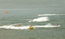Free Jet-Ski Race Stock Photo - 32247990