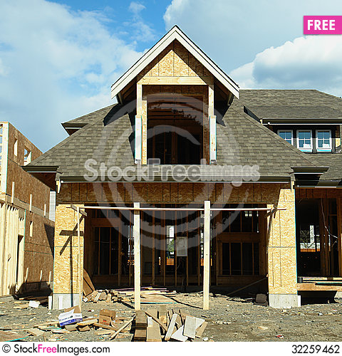 Free Housing Unfinished Stock Photography - 32259462