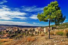 Free Cuenca. Lost In Cliffs Stock Photography - 32250262