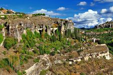 Free Rocks Of Cuenca, Royalty Free Stock Photography - 32250287