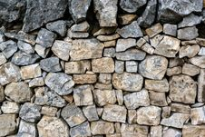Free Stone Wall Royalty Free Stock Photo - 32252005