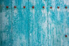 Blue Wood Abstract Background Stock Photo