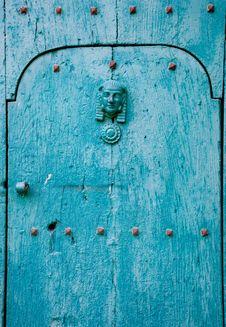 Free Blue Italian Door Royalty Free Stock Photography - 32252637