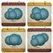 Free Cloud Buttons Stock Photos - 32250963