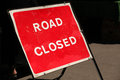 Free Road Closed Sign Royalty Free Stock Photography - 32267747