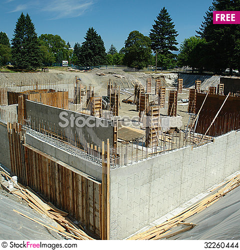 Free Construction Site Stock Images - 32260444