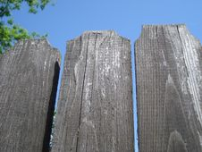 Free Aged Wooden Fence Stock Image - 32260821