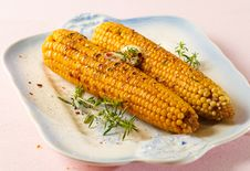 Free Grilled Corn Royalty Free Stock Images - 32261329