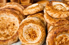 Traditional Asian Bread Stock Images