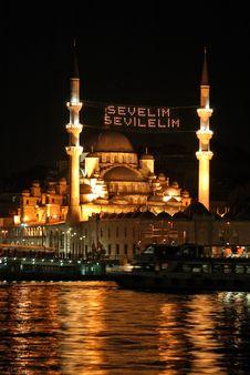 New Mosque Istanbul, Turkey Royalty Free Stock Photos