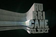 Free Hurricane Alert Royalty Free Stock Image - 32269566