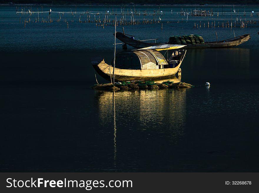 Boat in Vietnam