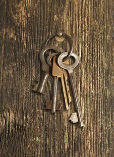 Free Bunch Of Keys Royalty Free Stock Photo - 32273385