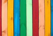 Free Colorful Wood Background Royalty Free Stock Images - 32273789